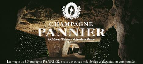 Visite des caves Pannier à 15 mn de Condé (le Champagne est un produit alcoolisé à consommer avec modération)