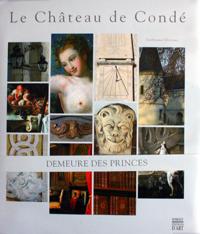 Couverture du livre d'art sur le Château de Condé aux éditions Somogy